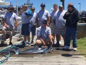 Ocean city fishing mako