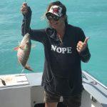 back fishing in Islamorada