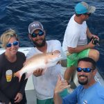 December Islamorada fishing snapper