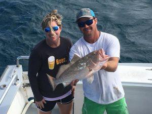 December Islamorada fishing grouper