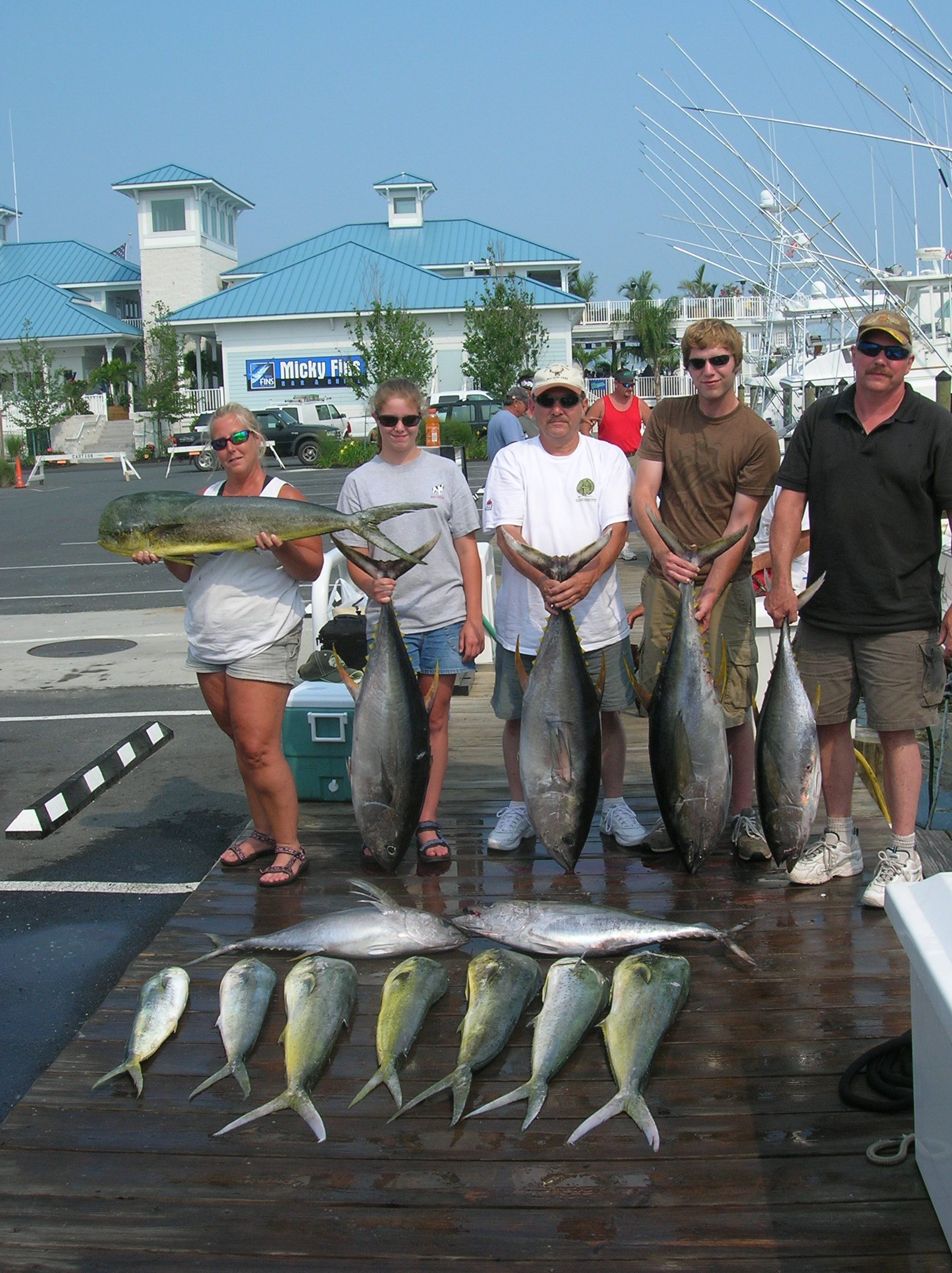 Ocean city maryland dolphin fishing pictures group for Fishing in ocean city md